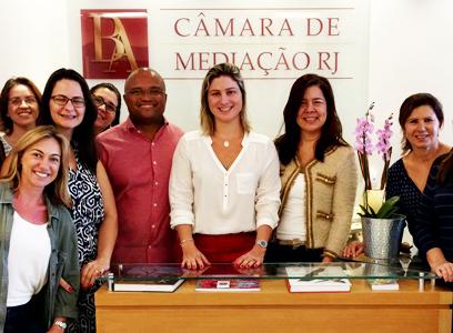 Capacitação da AB Câmara de Mediação RJ forma mediadores para atuarem nas soluções de conflitos – Uma nova justiça de paz no Brasil
